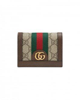 Gucci tarjetero Ophidia GG